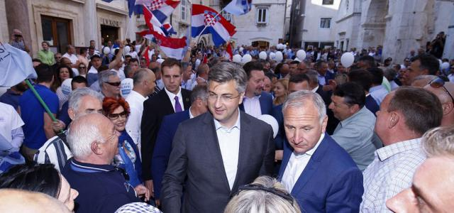 Predsjednik Plenković prihvatio je poziv gradonačelnika Krstulovića Opare