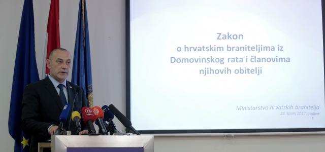 Zakonom smo odali priznanje žrtvi hrvatskih branitelja i osigurali zaštitu digniteta Domovinskog rata!