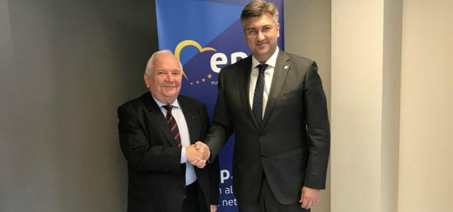 Susret s predsjednikom EPP-a Josephom Daulom