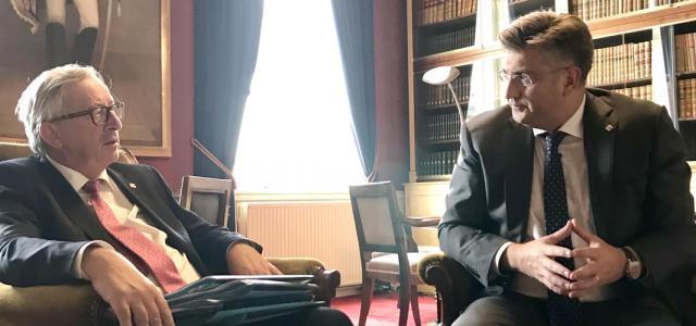 S predsjednikom Europske komisije Jean-Claudeom Junckerom