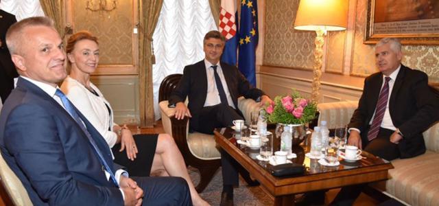 Kao temeljni preduvjet vladavine prava istaknuta je važnost institucionalne jednakopravnosti hrvatskog naroda u Bosni i Hercegovini!