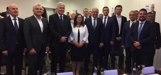 S koordinatorima za izbore u BiH iz Njemačke, Švicarske i Austrije …