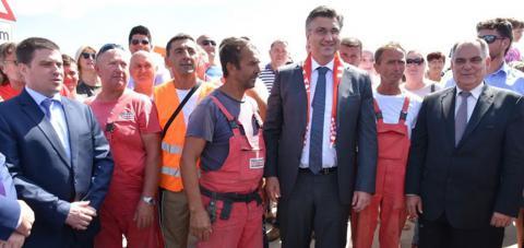 Predsjednik Plenković otvorio most kopno-otok Čiovo - vrijedan više od 200 milijuna kuna!