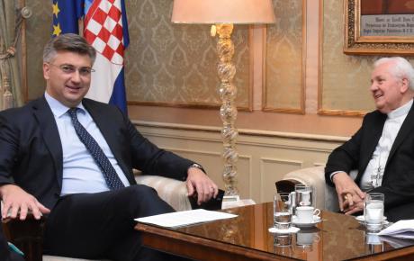 """Vlada RH potpomaže izgradnju Caritasova vrtića i rad Opće gimnazije KŠC-a """"Ivan Merz"""" u Banja Luci"""