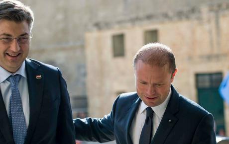 S predsjednikom Vlade Republike Malte Josephom Muscatom